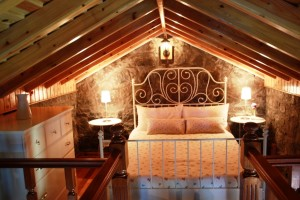 Moinho da Cascata - quarto de casal sótão